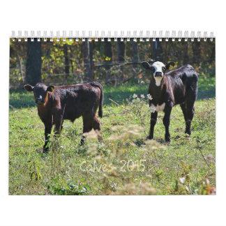 2015 Calves Calendar