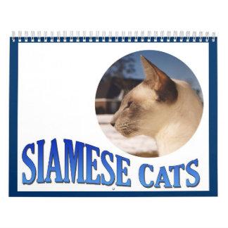 2015 Cat Calendar - Siamese Cat Calendar