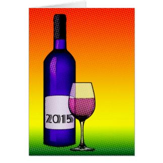 2015 celebration wine cards