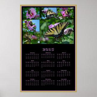 2015 Chasing Butterflies calendar Poster