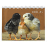 2015 Chickens Wall Calendar