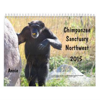 2015 Chimpanzee Sanctuary Northwest Calendar