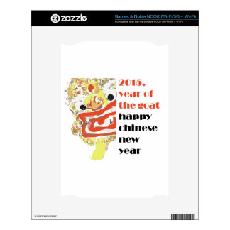 2015 Chinese new Goat year animal zodiac cycle Decals For The NOOK