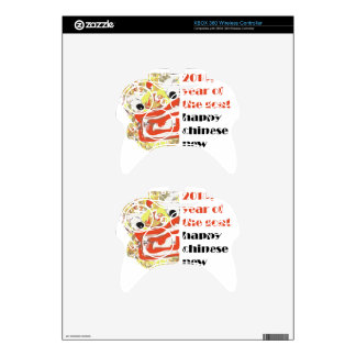 2015 Chinese new Goat year animal zodiac cycle Xbox 360 Controller Decal