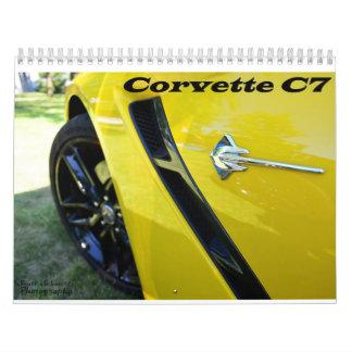 2015 Corvette C7 Calendars