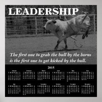 2015 Demotivational Calendar Leadership Poster