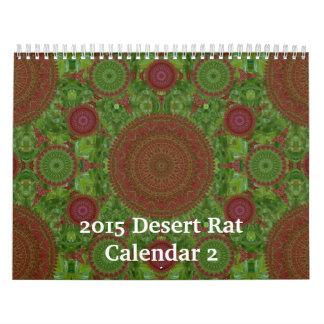2015 Desert Rat Calendar 2