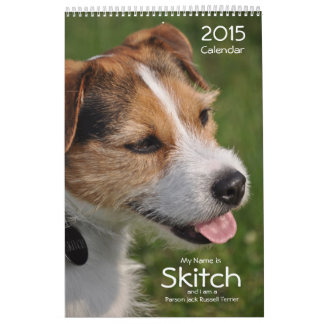 2015 Dog Wall Calendar by Janz