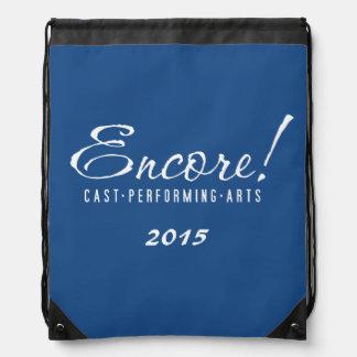 2015 Encore! Logo Backpack in Blue