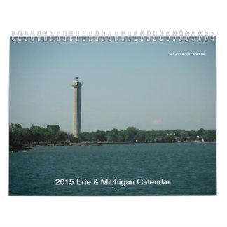 2015 Erie & Michigan Calendar