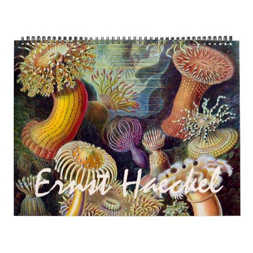 2015 Ernst Haeckel Art, Biology and Botany Calendar