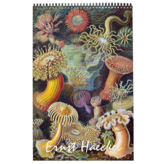 2015 Ernst Haeckel Art, Biology and Botany Calendar