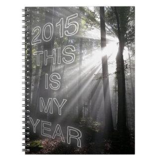 2015 éste es mi año libreta