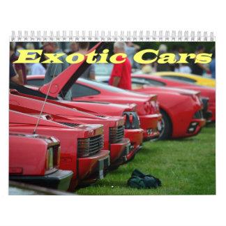 2015 Exotic car calendar