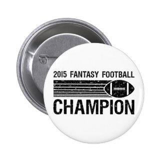2015 Fantasy Football Champion 1 2 Inch Round Button