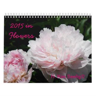 2015 flores del calendario