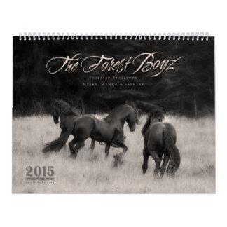 2015 Forest Boyz Calendar Calendario
