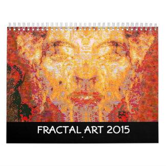 2015  FRACTAL ART COLLECTION CALENDARS