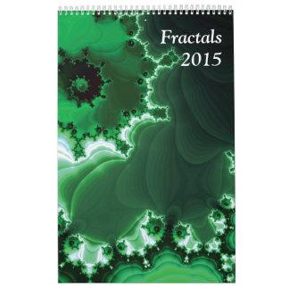 2015 Fractals Calendars