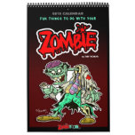 2015 Fun Things To Do With Your ZOMBIE Calendar