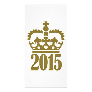 2015 golden crown photo card