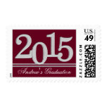 2015 Graduate Silver Color Change Stamps