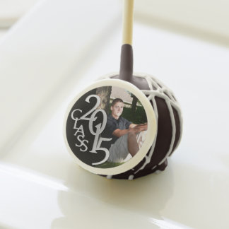 2015 Graduate with Photo Cake Pops