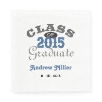 2015 Graduation Party - Blue Napkin