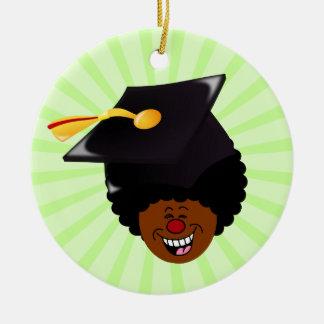 2015 Graduation Tassel Hassle Round Ceramic Ornament