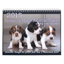 2015 Granite Hills Animal Care calendar