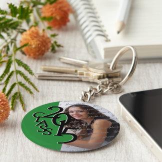 2015 Green Graduation Keepsake Keychain