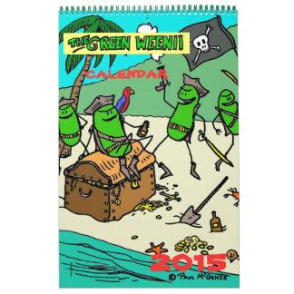 2015 Green Weenii Calendar