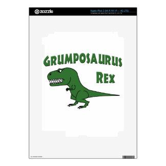 2015 Grumposaurus Green Decals For iPad 3