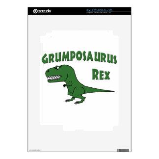 2015 Grumposaurus Green iPad 2 Skins