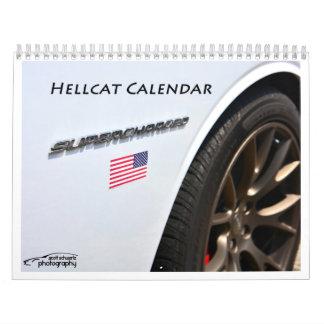 2015 Hellcat Challenger Calendar