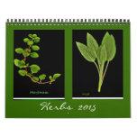 2015 Herbs calendar