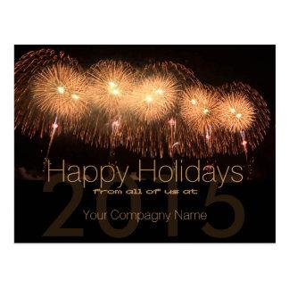 2015 Holidays Customizable Corporate Cards 5 - Postcards