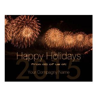 2015 Holidays Customizable Corporate Cards - Postcard