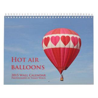 2015 Hot Air Balloon Calendar Wall Calendar