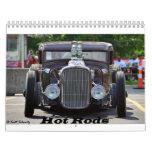 2015 Hot Rods & Street Rods Calendar