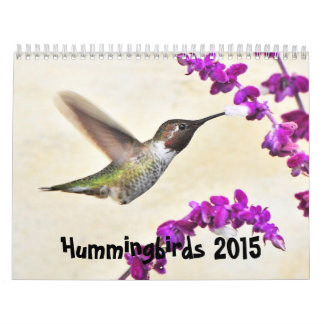 2015 Hummingbirds Calendar