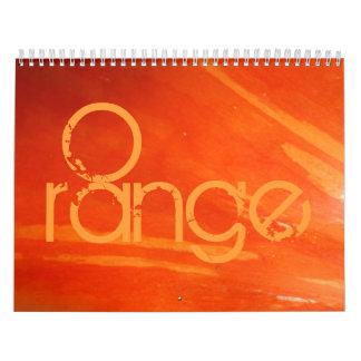 2015 in colours calendar