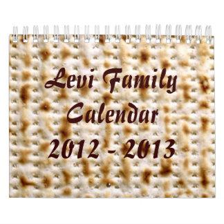 2015 Jewish Wall Calendar, 15 Month ~ Customize!