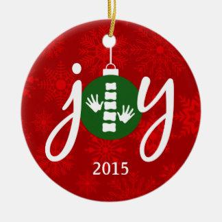 2015 JOY Chiropractic / Chiropractor Ornament