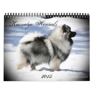2015 Keesridge Keeshonden Calendar