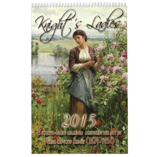 2015: Las señoras del caballero Calendarios