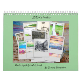 2015 Maine Calendar by local artist