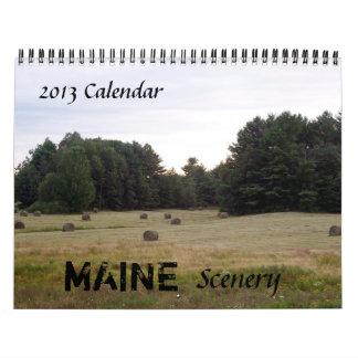 2015 Maine Scener Calendar