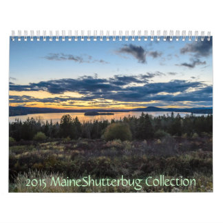 2015 MaineShutterbug Collection Calendars
