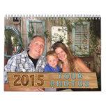 2015 Make Your Own Calendar Online, INSTRUCTIONS
